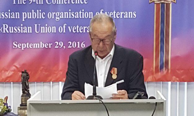 Delegacija ZZB na obisku pri Zvezi ruskih veteranov