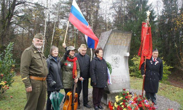 Spominska svečanost ob 71. obletnici smrti Franca Rozmana-Staneta, Lokve pri Črnomlju