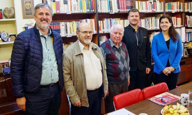 Sodelovanje z grško veteransko partizansko organizacijo