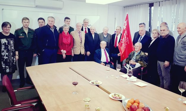 ZZB prejela častni prapor Ruske federacije