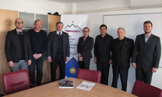 Predstavnik Bolivarske republike Venezuele obiskal ZZB NOB Slovenije