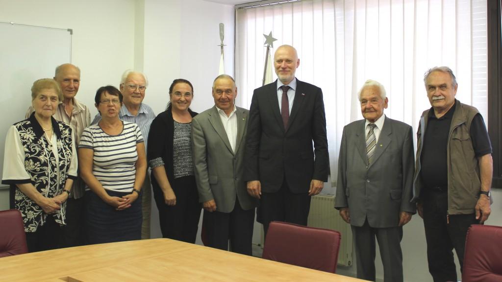 Predsednik Državnega zbora na 31. seji kolegija Zveze združenj borcev za vrednote NOB Slovenije