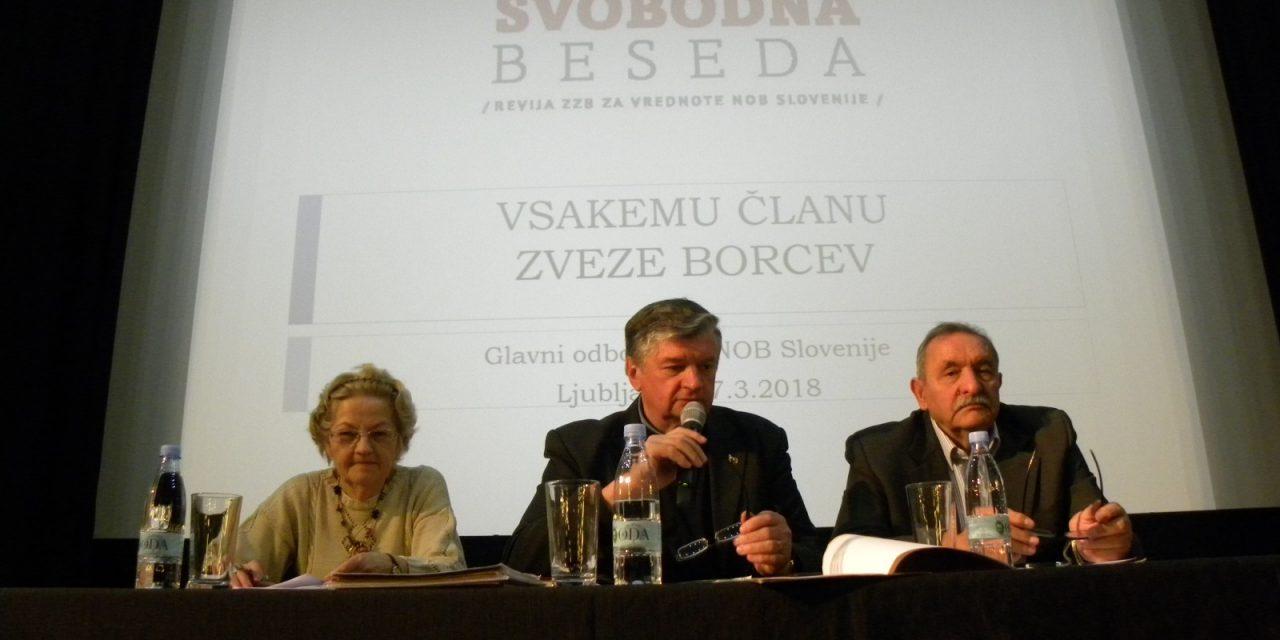 Prva letošnja redna seja Glavnega odbora