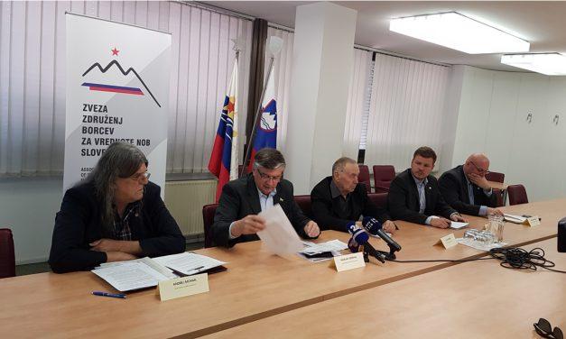 Zveza borcev Slovenije ob 70. obletnici delovanja za prepoved nacifašistične simbolike!