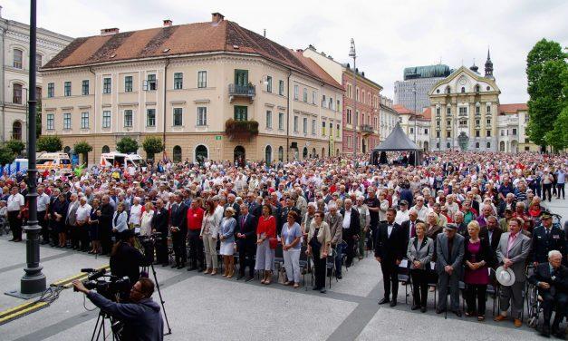 Spominska slovesnost ob 70 – letnici Zveze borcev Slovenije