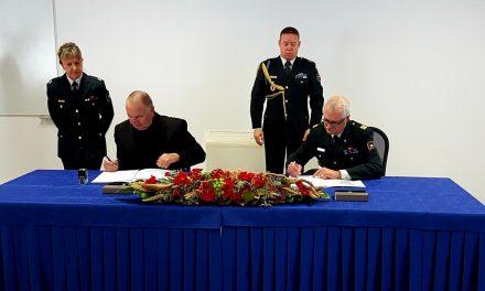 Podpis letnega sodelovanja med Zvezo borcev in Slovensko vojsko