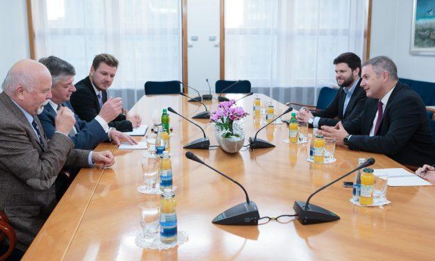 Delovno srečanje vodstva Zveze borcev s predsednikom Državnega zbora